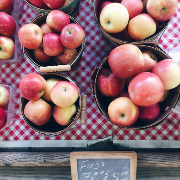 Apples Fulton Street Farmers Market